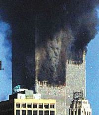 Authentic, undoctored photo taken by AP photog Mark D. Phillips on 9/11.