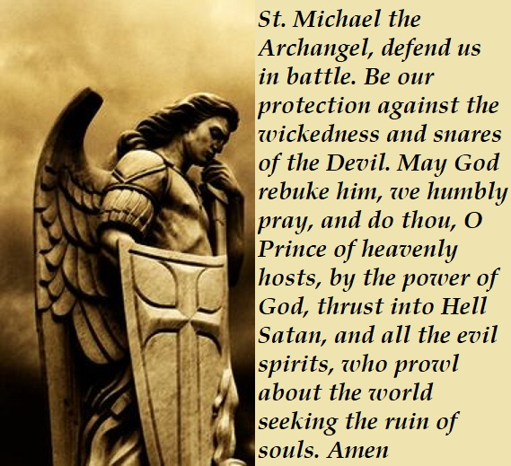Image result for st michael prayer