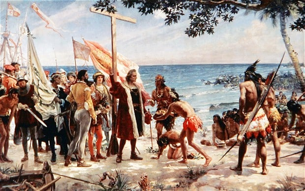 The explorer, Christopher Columbus, was the son of a Polish king living in exile in Madeira and hid his royal roots to protect his father, a new book claims.