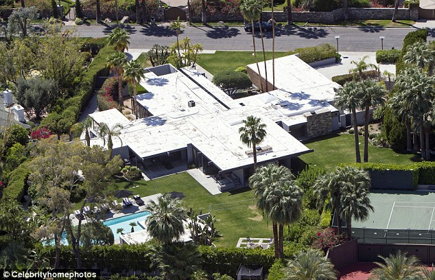 Leo's house in Palm Springs