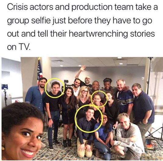 Parkland shooting crisis actors
